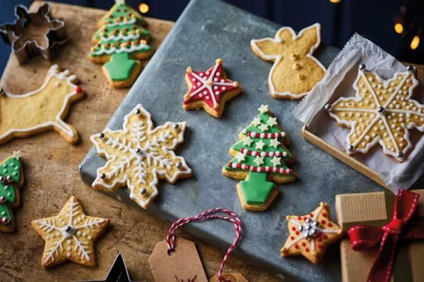 Φτιάξτε τα πιο νόστιμα Χριστουγεννιάτικα μπισκότα!