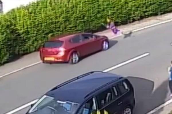 Βίντεο σοκ: ΙΧ χτυπάει αγοράκι και το τινάζει στα 12 μέτρα!