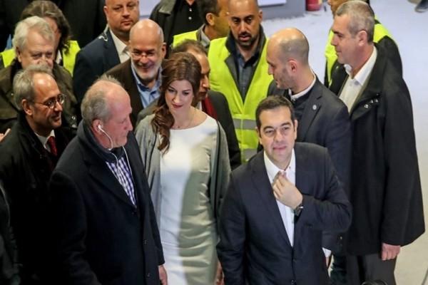 Θεσσαλονίκη: Ο Αλέξης Τσίπρας εγκαινίασε μετρό χωρίς... συρμούς!