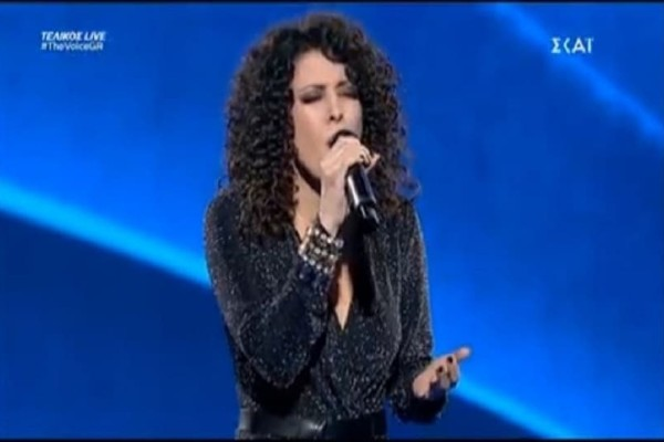 The Voice: Συγκίνησε το πλατό η Μαρία Ιερωνυμάκη! (video)