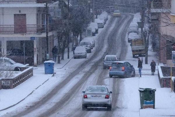 «Παγοδρόμια» έχουν γίνει οι δρόμοι εξαιτίας του παγετού! - Κλειστά τα σχολεία και σήμερα!