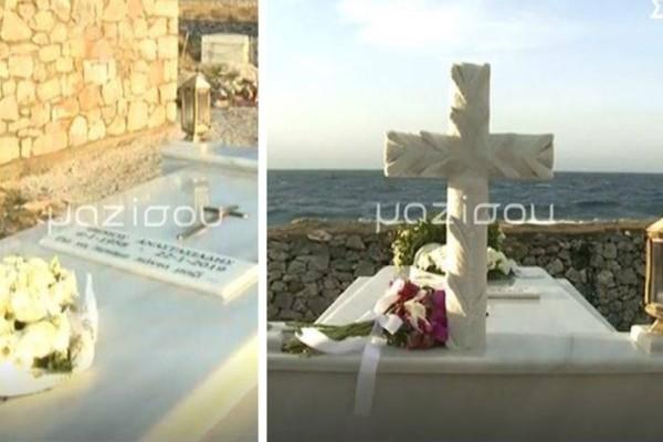 Δέος: Ο μαγευτικός τάφος του Θέμου Αναστασιάδη μπροστά στην θάλασσα!