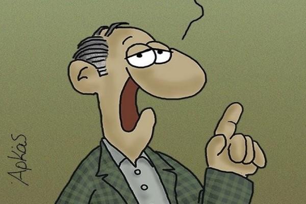 Το αιχμηρό σκίτσο του Αρκά για την ψήφο εμπιστοσύνης στην κυβέρνηση!