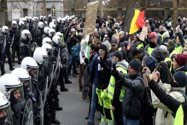Βέλγιο: Νεκρός διαδηλωτής, τον χτύπησε φορτηγό!