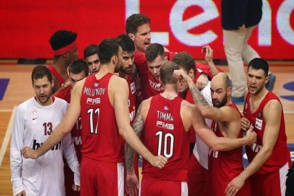 Euroleague: Τη Χίμκι του Γιώργου Μπαρτζώκα υποδέχεται ο Ολυμπιακός!