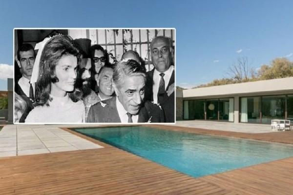 Έναντι 15 εκατ. ευρώ πωλείται η ιστορική βίλα της οικογένειας Ωνάση στο Λαγονήσι!