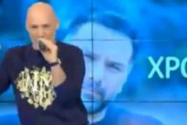 Νίκος Μουτσινάς: Δείτε πως ευχήθηκε στον Γρηγόρη Αρναούτογλου για την ονομαστική του εορτή!