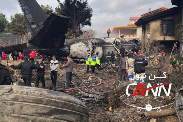Αεροπορικό δυστύχημα στο Ιράν: 15 νεκροί και ένας επιζών - Το Boeing 707 συνετρίβη σε κατοικιμένη περιοχή