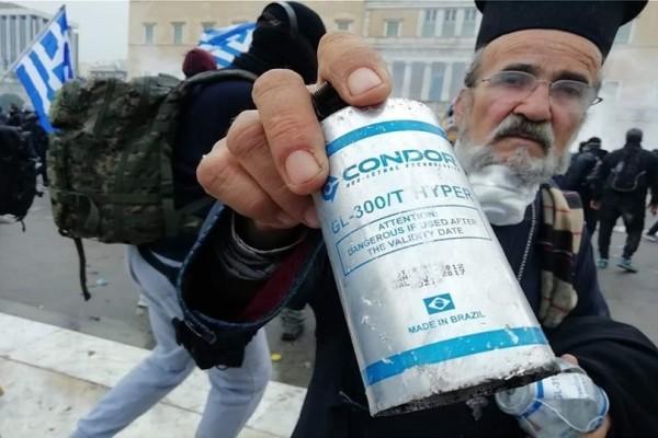 Συλλαλητήριο για τη Μακεδονία: Ληγμένα από το 2017 ήταν τα χημικά που έπνιξαν τους διαδηλωτές!