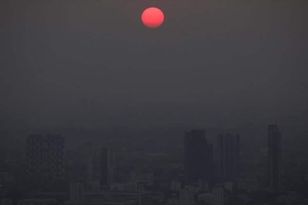 Η φωτογραφία της ημέρας: Ηλιοβασίλεμα στην Μπανγκόκ!