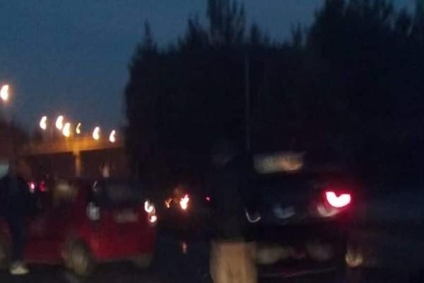 Χάος: Καραμπόλα 15 αυτοκινήτων στην Θεσσαλονίκη!(photos)