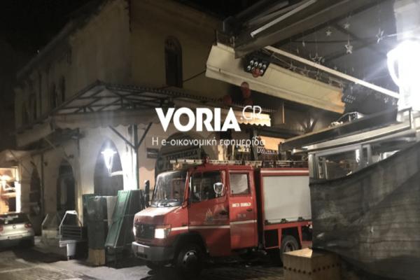 Συναγερμός στην Θεσσαλονίκη: Φωτιά σε κρεοπωλείο στο Καπάνι!