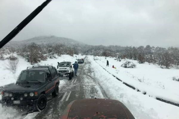 Επιχείρηση απεγκλωβισμού 50 εκδρομέων στη Φθιώτιδα! (photos)