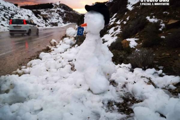Εντυπωσιακό βίντεο από την χιονισμένη Αργολίδα!
