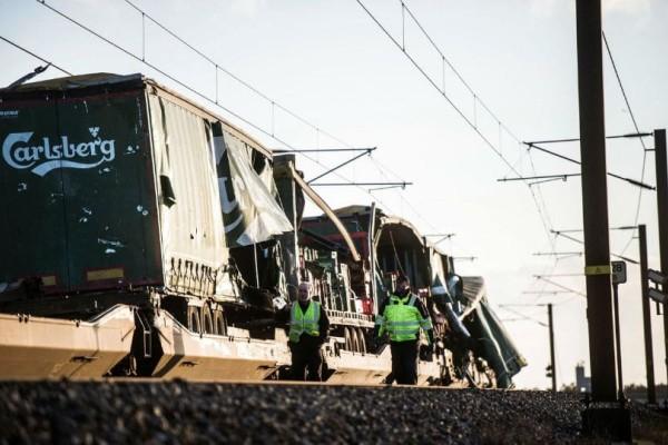 Δανία: Οι πρώτες εικόνες από το σημείο της σιδηροδρομικής τραγωδίας!