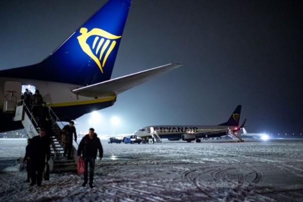 Ακυρώσεις πτήσεων λόγω χιονιά!