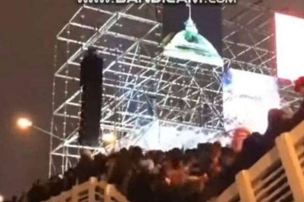Στιγμές τρόμου στη Μόσχα: Γέφυρα άνοιξε στα δύο (video)