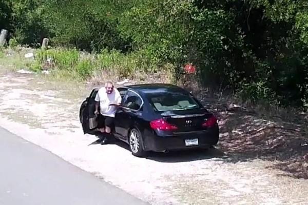 Ύποπτος άντρας παρκάρει στην άκρη του δρόμου: Ωστόσο η κάμερα καταγράφει τα πάντα και ειδοποιείται αμέσως την αστυνομία!