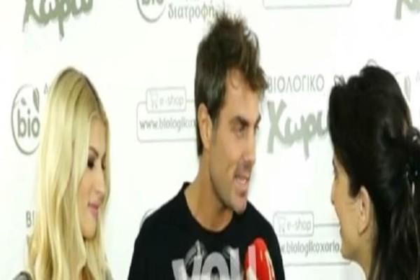 Στέλιος Χανταμπάκης: Εξοργίστηκε με ερώτηση δημοσιογράφου! (video)