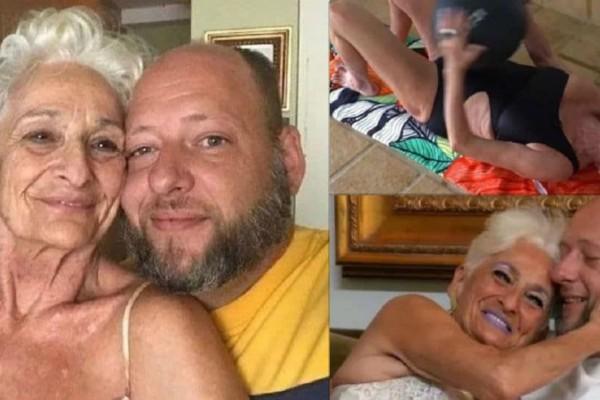 82χρονη γυμνάζεται καθημερινά για να αντέχει το σe3 με τον 39χρονο σύντροφό της!