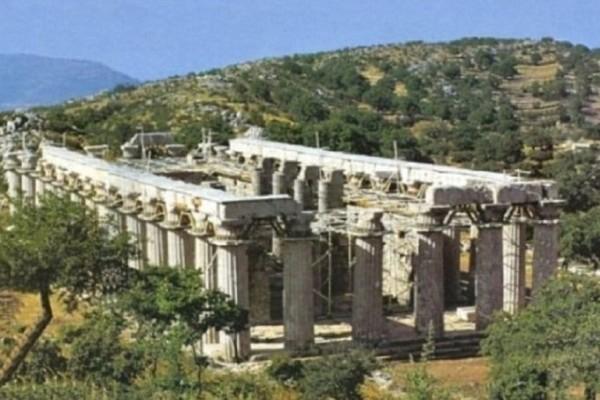 Μοναδικό φαινόμενο στην Ελλάδα: Ο Ναός του Επικούριου Απόλλωνα που περιστρέφεται!
