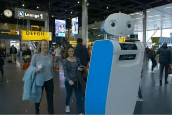 Ρομπότ: Οι νέοι μας βοηθοί στα αεροδρόμια!