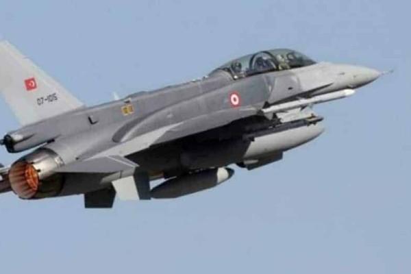 Τουρκικά F-16 πέταξαν πάνω απο Καστελλόριζο, Ρω και Στρογγυλη
