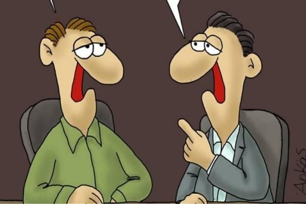 Το αιχμηρό σκίτσο του Αρκά για την κυβέρνηση και την Συμφωνία των Πρεσπών!