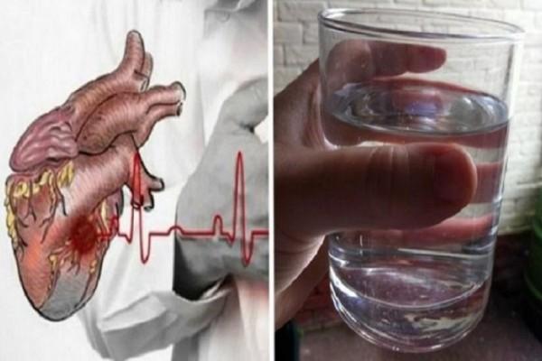 Τεράστια προσοχή: Ο άγνωστος ρόλος του νερού στη καρδιακή προσβολή!