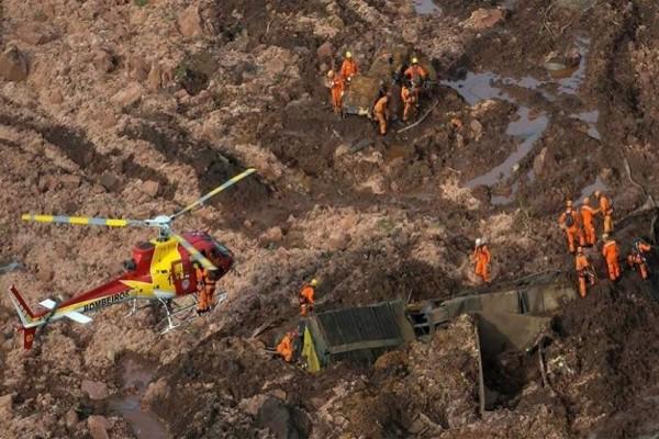 Βραζιλία: 9 νεκροί και 300 αγνοούμενοι από την κατάρρευση του φράγματος σε ορυχείο!