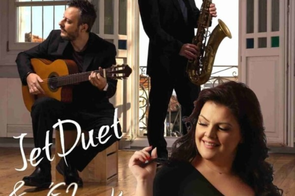 Live Jet Duet και Έλσα Καριώτη live στο Θέα!