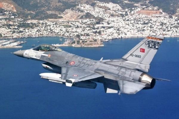 Συνεχίζουν τις προκλήσεις οι Τούρκοι με εικονική αερομαχία στο Αιγαίο!