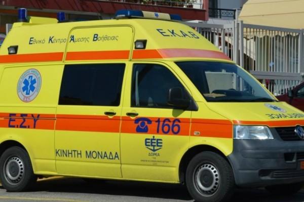 Κρήτη: Σε κρίσιμη κατάσταση 28χρονος που έπεσε από μεγάλο ύψος