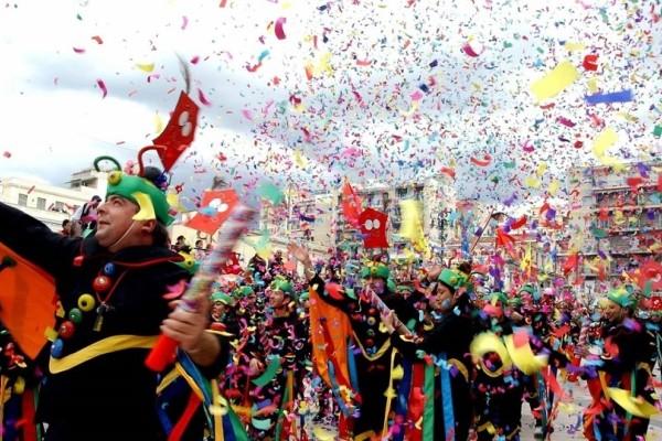 Ξεκινά το Σάββατο το Καρναβάλι της Πάτρας! - Με σοκολατοπόλεμο και κυνήγι θησαυρού!