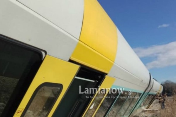 Τρένο εκτροχιάστηκε και «τούμπαρε» στο Λιανοκλάδι!