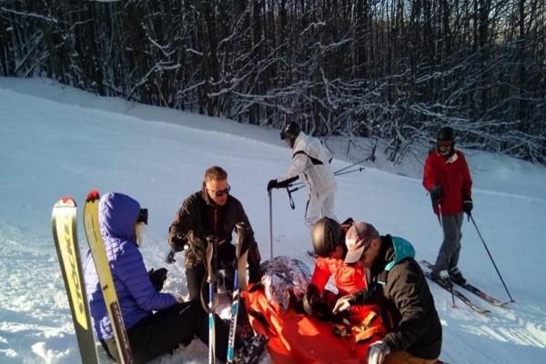 Πήλιο: Δύο τραυματίες στο χιονοδρομικό κέντρο!
