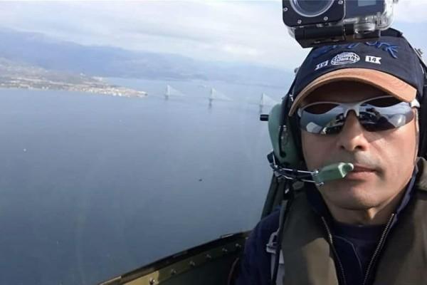 Ώρες αγωνίας για τον πιλότο του αεροσκάφους που κατέπεσε στο Μεσολόγγι!