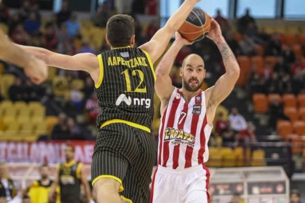 Basket League: Ντέρμπι Ολυμπιακός - ΑΕΚ στο ΣΕΦ!