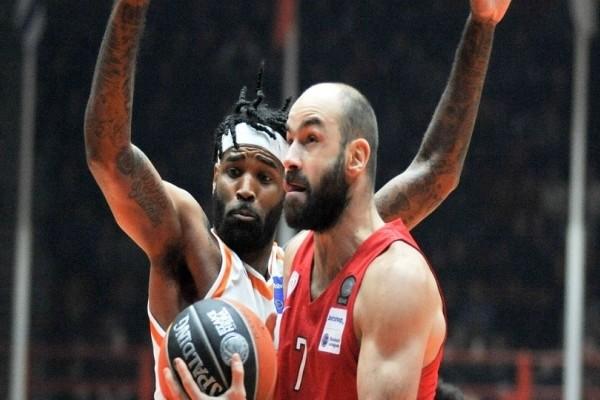Ολυμπιακός: Πέρασε δύσκολα από την Πάτρα με νέο ρεκόρ Σπανούλη!