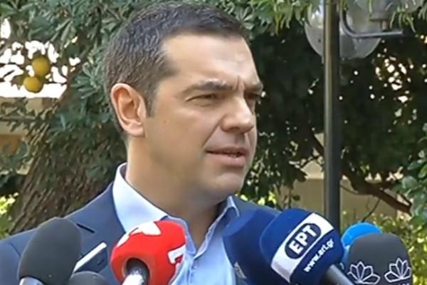 Αλέξης Τσίπρας: Θα ζητήσω ψήφο εμπιστοσύνης από τη Βουλή
