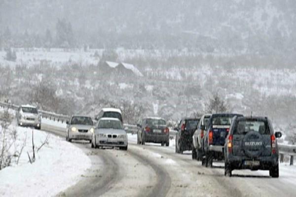 Διακοπή κυκλοφορίας σε Αρκαδία και Κορινθία! - Πού είναι απαραίτητες οι αλυσίδες;