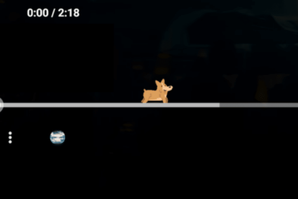 Υπάρχει ένας σκύλος κρυμμένος στο timeline του YouTube σου!