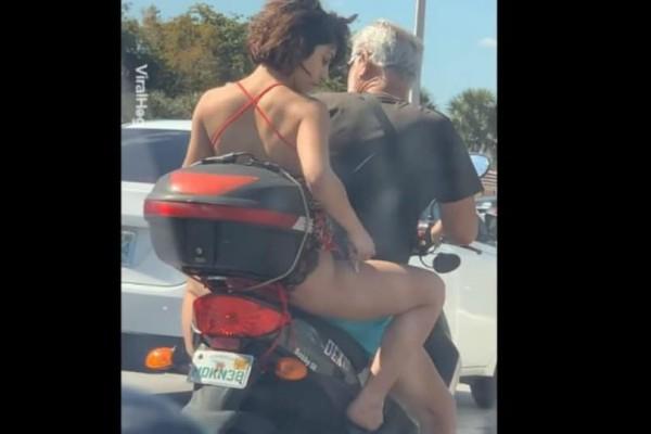 Έπος: Νεαρή γυναίκα κόλλησε στην κίνηση κι αποφάσισε να...ξυρίσει τα πόδια της!
