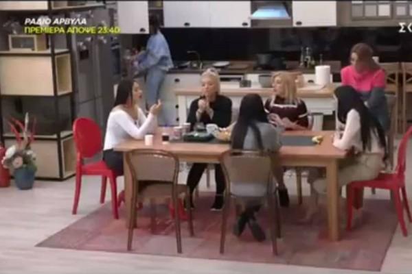 Βγήκαν τα μαχαίρια στο Power of Love: Νέρτζη-Ρένια και Λένια έλυσαν τις διαφορές! (video)