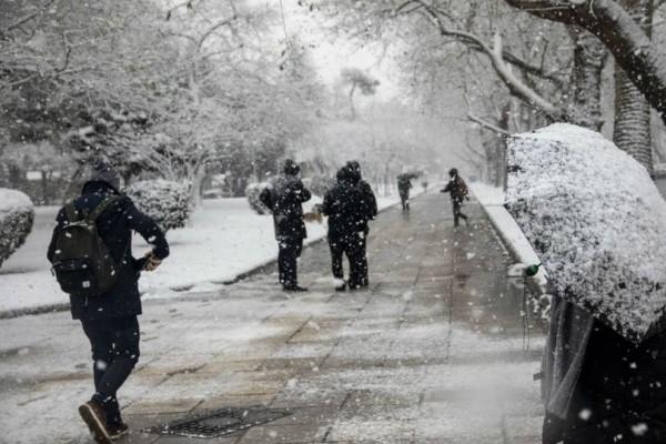 Καιρός: Η «Χιόνη» σαρώνει τη χώρα με παγωνιά και μποφόρ!