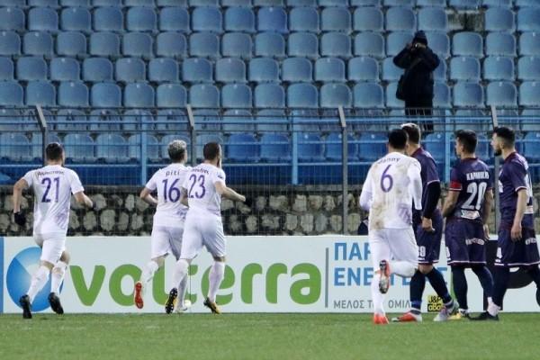 Super League: Λαμία - Λάρισα 2-1