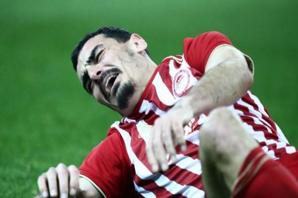 Ολυμπιακός: Ρήξη χιαστών ο Λάζαρος Χριστοδουλόπουλος!