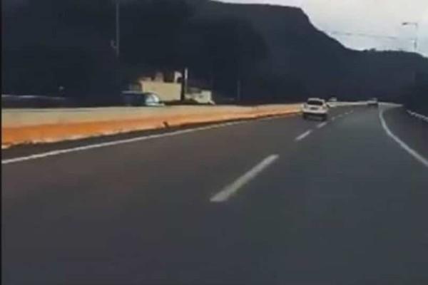 Βίντεο - σοκ: Οδηγούσε για ώρα στο αντίθετο ρεύμα της Εθνικής Οδού!