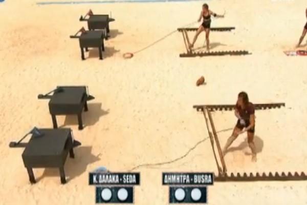 Survivor: Ποιες παίκτριες κέρδισαν στο mix game; (video)