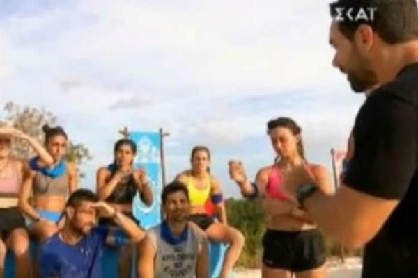 Survivor: Δείτε τον «προπονητή»Τανιμανίδη να περιγράφει λες και είναι σε ποδοσφαιρικό αγώνα!